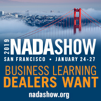 graphic for NADA's 2019 NADA Show in San Francisco