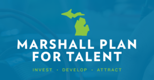 marshall plan for talent. invest, develop, attract.