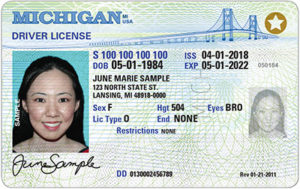 REAL ID License image