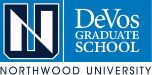DeVos Graduate School at Notrthern University logo